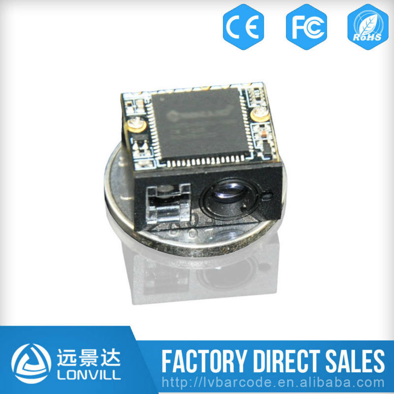 FREE Shipping Barcode Scanner Module Supplier World's smallest 2D Barcode Scan Engine for PCB Integrated Circuits LV3080