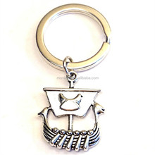 Viking Ship Keychain Viking Charm Keyring Viking Jewelry Scandinavian Jewelry