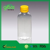 Made in China OEM BPA Free Plastic Pet Juice Bottle