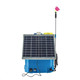 Agricultural solar power knapsack sprayer