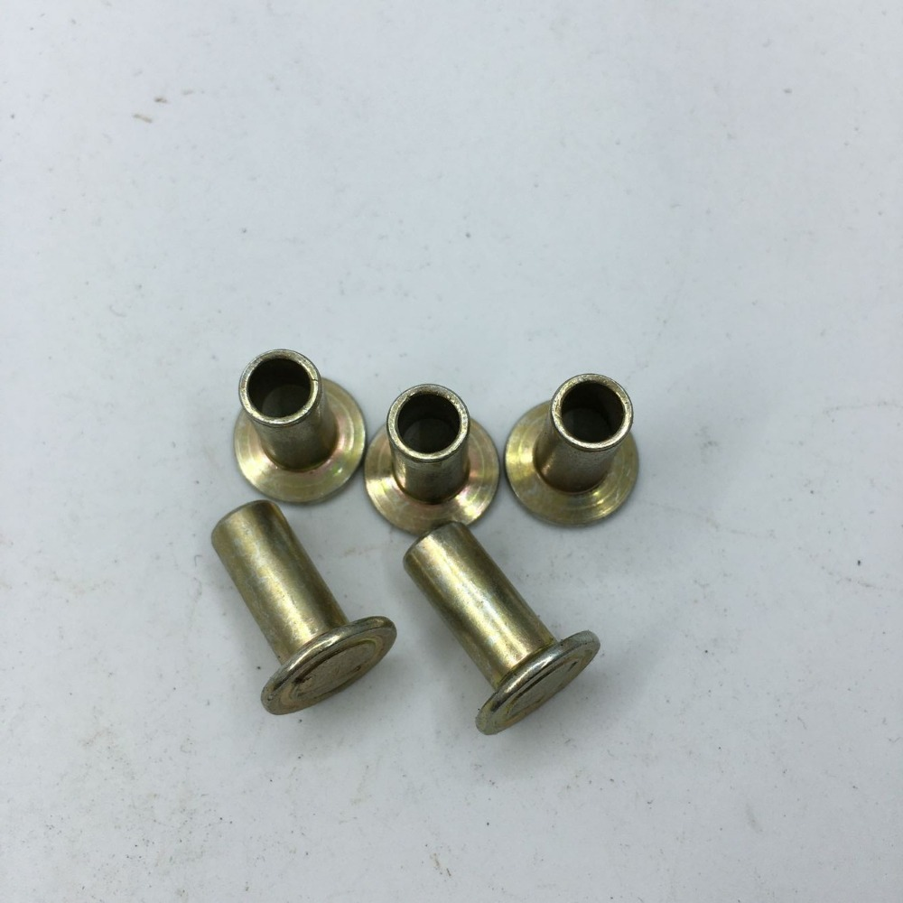 yellow zinc plated cold heading hollow brass fitting and oem part