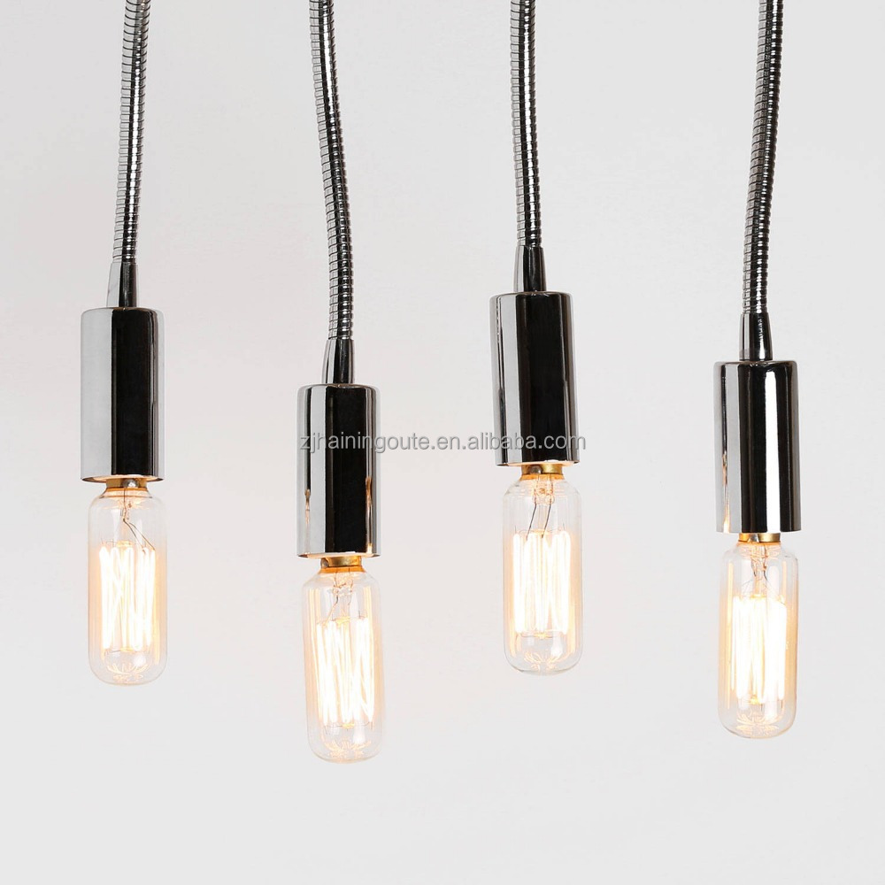 High quality modern crystal pendant lamp with T8 mini bulb ce&rohs