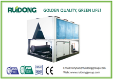 Ruidong brand air cooled screw water chiller or heat pump,double screw unit