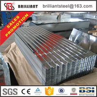 Trade Assurance 0.7 mm thick aluminum zinc corrugated steel metal roofing sheet for sale