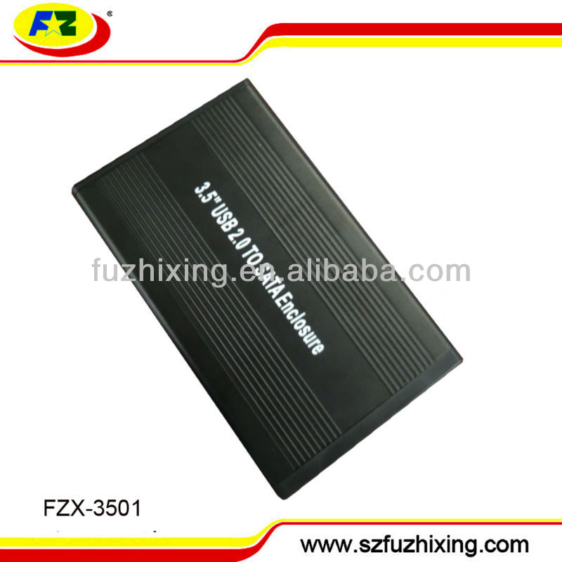 Portable usb2.0 2TB 3 5 SATA HDD Case with High Quality MA6116