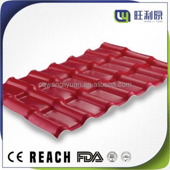 WLY Car park plastic roof tile prices