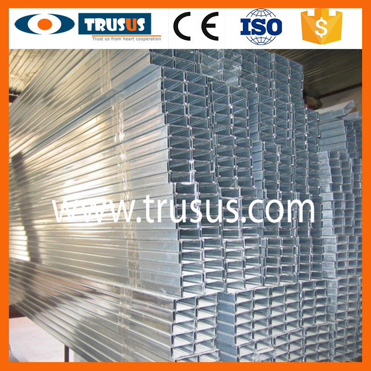 Chinese Supporting Zinc Coated Metal Metal T and U Type U Track
