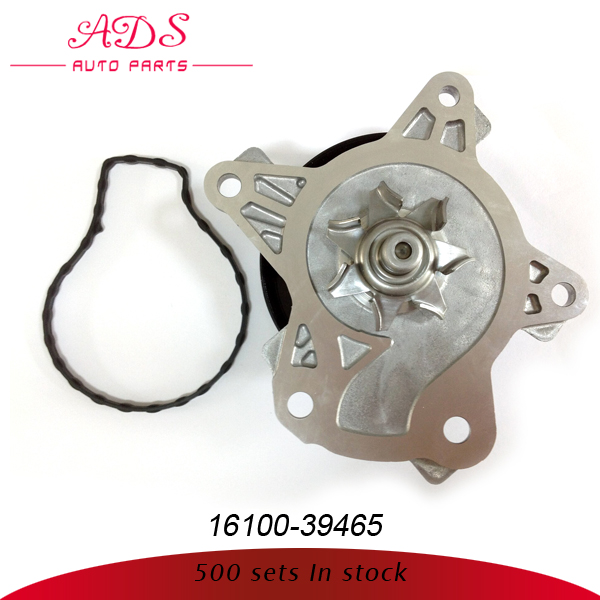 Auto parts importer water pump spare parts with high quality oem:16100-39465