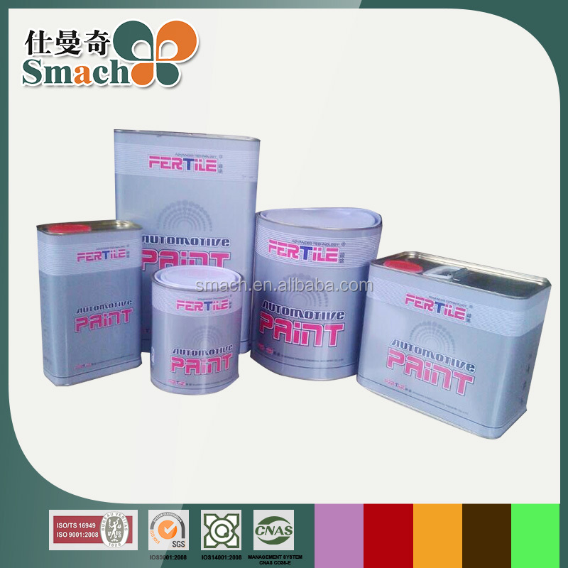 Guangdong manufacture Discount good gloss automotive paint toner