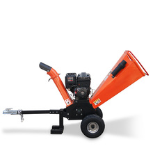 Durable heavy Honda/Ducar/Briggs & Stratton/Loncin engine powered 15 hp wood chipping machine with petrol engine