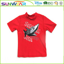 The hottest wholesale beach clothing shark print boys swimwear models new styles oem