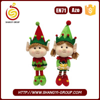 Christmas doll stuffed & plush toy elf on the shelf Christmas gift for kids
