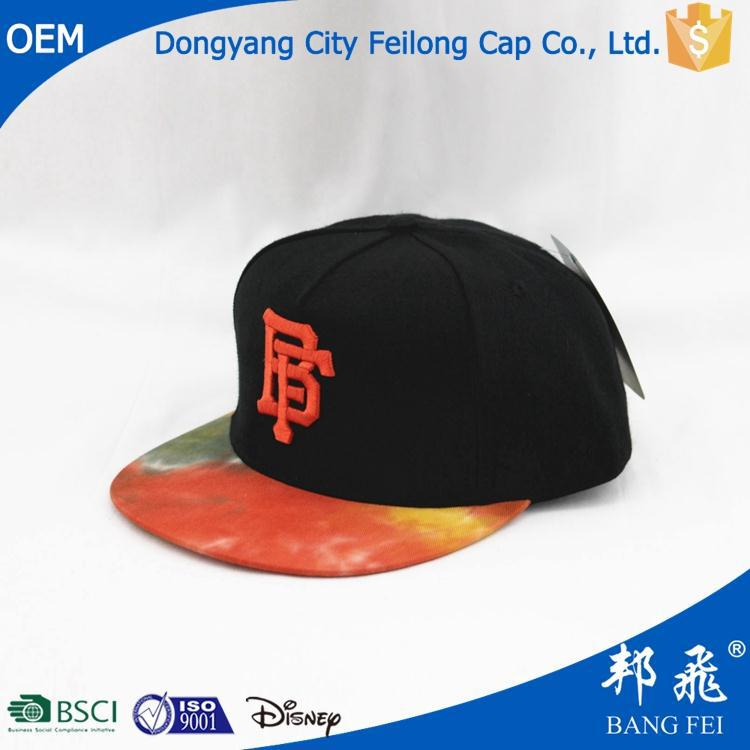 Hot selling led snapback caps with low price