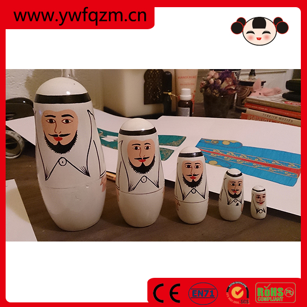 2016 new funny wooden doll home decoration items