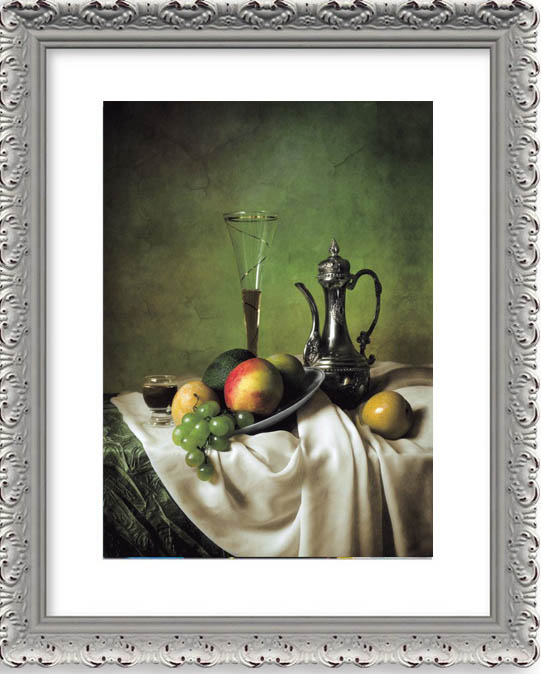 3D lenticular PET still life and fruit 60*80cm picture light box