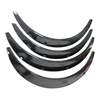 Fender Wheel Arches Flare Extension For Universal Cars Auto carbon fiber Fender Flare Wheel Eyebrow