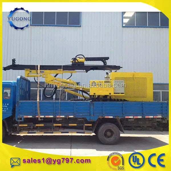 Second hand diesel drilling rig machine low cost