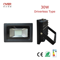 ultra thin led flood light driverless DOB with CE ROHS approved