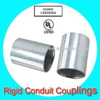 hot dip galvanized pipe coupling for connecting