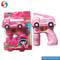 Chenghai new bubble machine with pink construction vehicle Girls bubble toy gun Bubble machine CB1804208