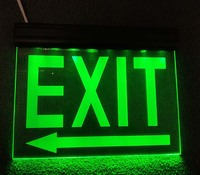 Rechargeable Hanging LED Emergency Lighting Sign