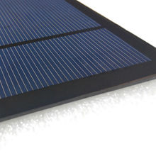Mini epoxy plate,epoxy resin plate,5W 12V solar panel 200*200mm mini solar module with non-stick protective film made in China