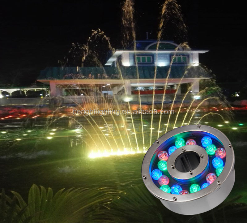 Pool Light Swimming LED Underwater Remote RGB Control Multi Color