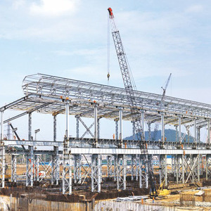 Long Span Heavy Or Light Pre engineering Steel Structure Construction