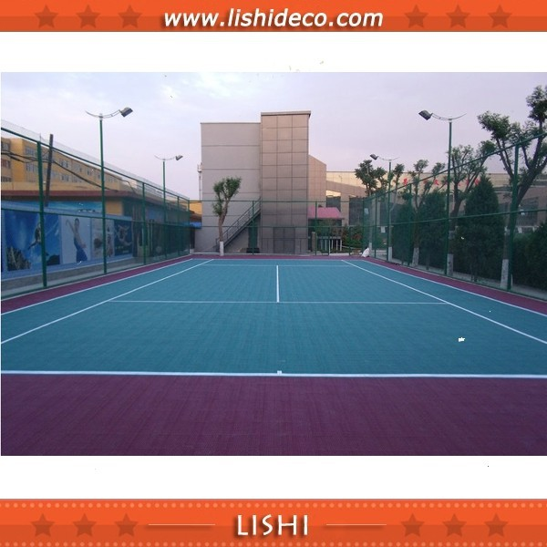 Badminton Sport Court Synthetic Flooring