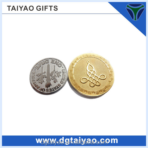 2014 Competitive price Metal material Great wall of china coin