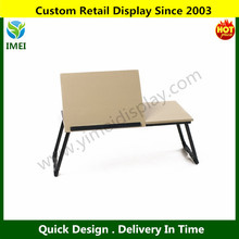 Portable Foldable Home and Office Supplies MDF Beige Lap Desk Tray Laptop Stand YM5-1064