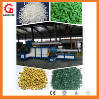 Waste plastic film granulation machine pp pe film recycling pellet extruder machine