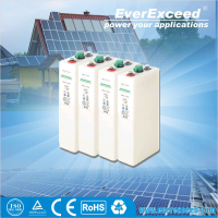EverExceed EVTN Series1.2V Alkaline Rechargeable Ni-Fe Battery for Solar Energy