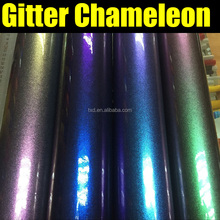 TXD Chameleon Glitter Car Wrap Vinyl Sticker 1.52*20M/Roll