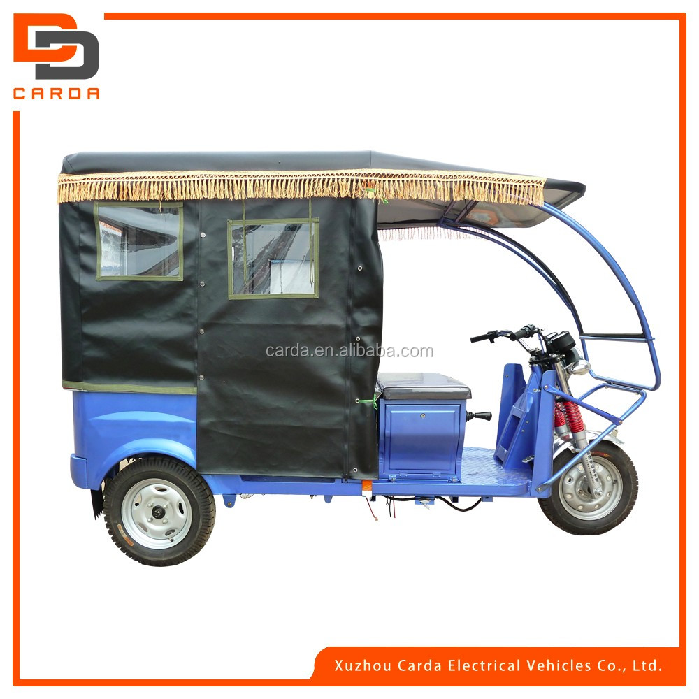 2016 hot sale electric tricycle for passenger e-rickshaw for passenger