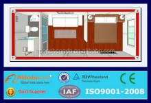 prefabricated modern mobile 20ft living container house floor plan