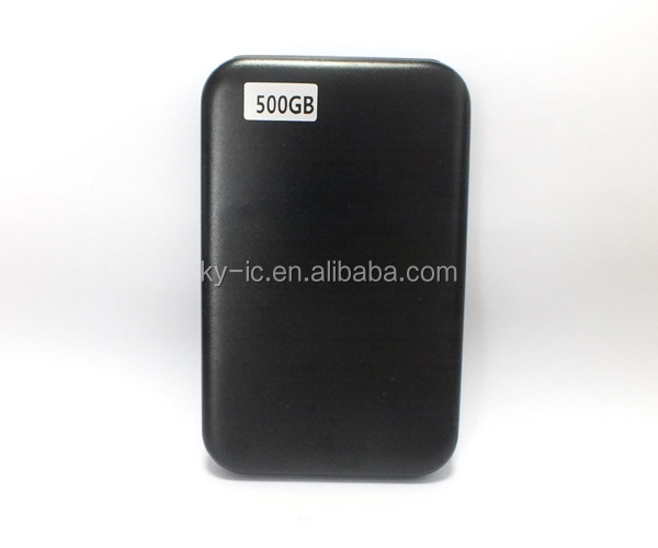 Cheap Price Aluminium External Hard Drive 500GB with USB 3.0 Port