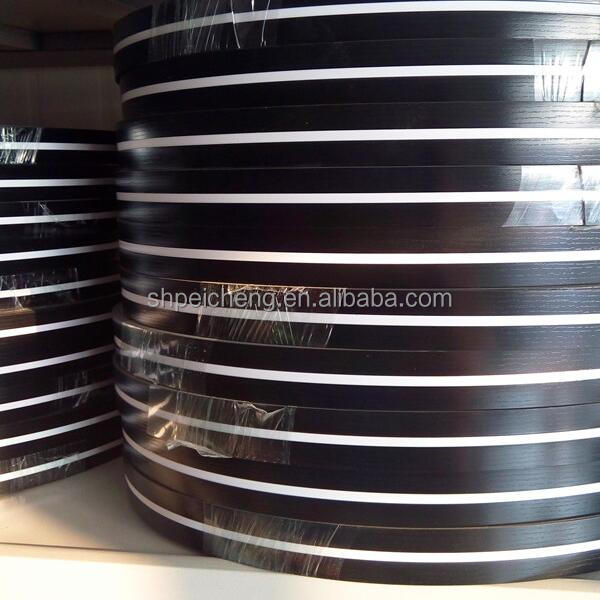 India imoprted 1*20mm pvc edge banding for office furniture accessories