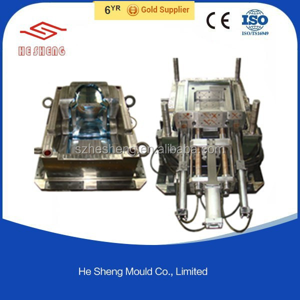 plastic injection mould PP mold PA66 PVC tool and tooling part and component