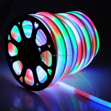 Waterproof CE ROHS Automotive Color Changing Led Rope Light Neon