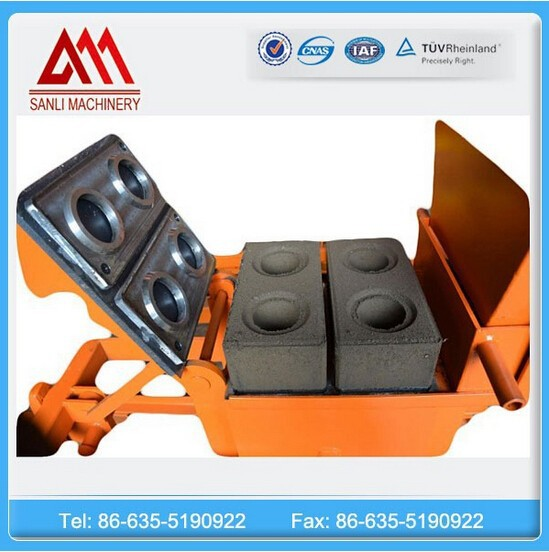 Compressed Earth Red/Clay/Fire Brick Block Making Machinery for Bangladesh Market QMR2-40