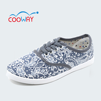 china factory wholesale women print casual shoes,have many colors
