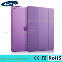 Factory Price!Genuine Leather Smart Cover For iPad Air Smart Case Fashion Pattern Stand