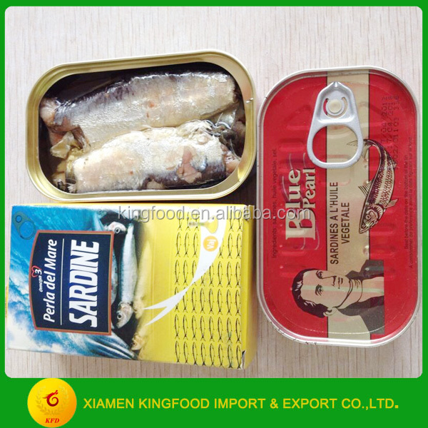 Ingredient Canned Sardine in Vegetable Oil 125g