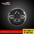 "Cree Head Lamp Car Headlight Manufacturer Latest Design 7"" Round 12v 24v High Low Beam H4 Auto Lighting System"