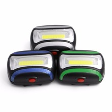 ABS Plastic 3W COB LED Outdoor Multi-functional Headlamp