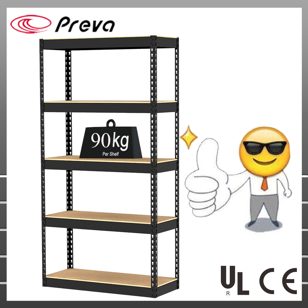 Storage shelving unit rack Boltless rivet shelves