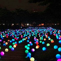 Swimming Pool Led Light Ball Fountain