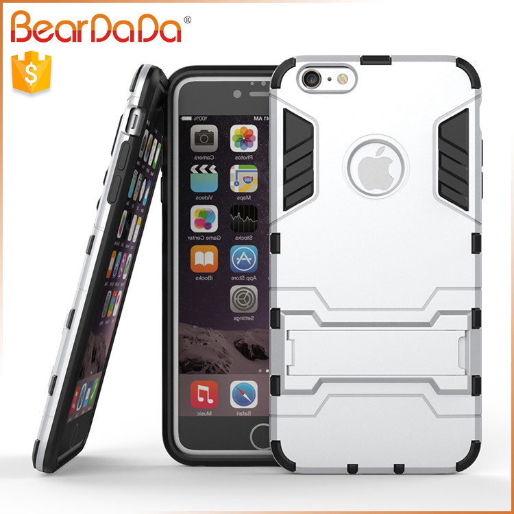 Heavy Duty Shockproof robot combo phone case for iphone
