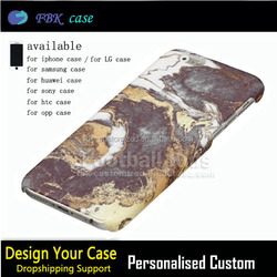 Black-white-gold mobile phone cover,for iphone 6s customized case cover